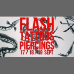 Flash-tattoos et piercings // 3 jours in Paris from 17 til September 20, 2018 (After-Work Lesbian)