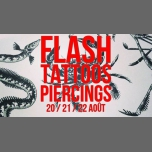 Flash-tattoos et piercings // 3 jours en Paris del 20 al 23 de agosto de 2018 (After-Work Lesbiana)