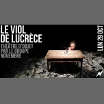 Théâtre d'objet : Le viol de Lucrèce in Paris le Mon, October 29, 2018 from 07:00 pm to 08:00 pm (After-Work Gay Friendly, Lesbian)