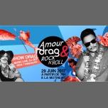 Amour, Drag & Rock'n'Roll #3 à Paris le jeu. 29 juin 2017 de 20h00 à 02h00 (After-Work Lesbienne)