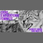 Cours d'autodéfense féministe in Paris le Sat, December  8, 2018 from 11:00 am to 01:00 pm (Workshop Lesbian)