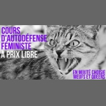 Complet / Cours d'autodéfense féministe in Paris le Sat, September  8, 2018 from 11:00 am to 04:00 pm (After-Work Lesbian)