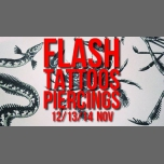 Flash-tattoos et piercings // 3 jours in Paris le Tue, November 13, 2018 from 05:00 pm to 12:30 am (After-Work Gay Friendly, Lesbian)