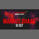 DJ set : Markus Ȼhaak in Paris le Sat, September 22, 2018 from 09:30 pm to 01:30 am (After-Work Lesbian)