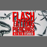 Flash-tattoos et piercings // 3 jours à Paris le lun.  4 février 2019 de 17h00 à 00h30 (After-Work Lesbienne)