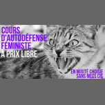 Cours d'autodéfense féministe à prix libre in Paris le Sat, February 23, 2019 from 02:00 pm to 04:00 pm (Workshop Lesbian)
