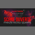 Scène ouverte meufs et queers en Paris le jue 21 de junio de 2018 19:00-23:00 (After-Work Lesbiana)