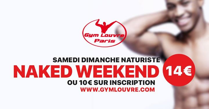 Naked in Paris le Sun, June  9, 2019 from 12:00 pm to 12:00 am (Sex Gay)