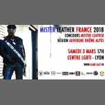 Concours Régional du Mister Leather Auvergne Rhône-Alpes in Lyon le Sat, March  3, 2018 from 05:00 pm to 08:00 pm (After-Work Gay)