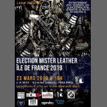 Election du Mister Leather Île de France 2019 in Paris le Sat, March 23, 2019 from 07:00 pm to 10:00 pm (After-Work Gay)