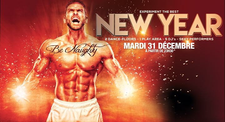 Sexy Reveillon - Le Depot in Paris le Tue, December 31, 2019 from 11:55 pm to 10:00 am (Clubbing Gay)