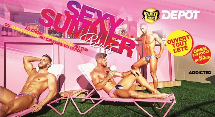 Sexy Summer en Paris le dom 28 de julio de 2019 12:00-06:00 (Sexo Gay)