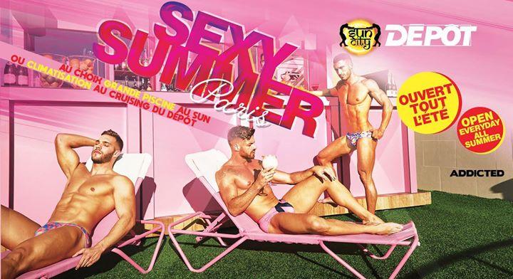Sexy Summer en Paris le dom 11 de agosto de 2019 12:00-06:00 (Sexo Gay)