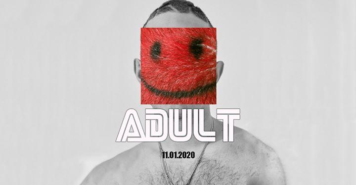 ADULT #2020 em Paris le sáb, 11 janeiro 2020 23:30-06:00 (Clubbing Gay)