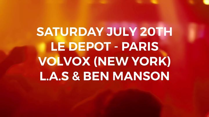 LDMT 2018 - 2019 closing feat Volvox - New York (USA) in Paris le Sa 20. Juli, 2019 23.30 bis 06.00 (Clubbing Gay)