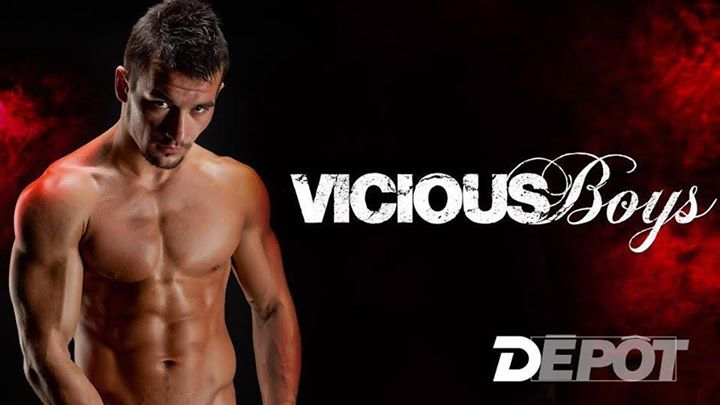 Vicious Boys - Le dépot in Paris le Sat, January  4, 2020 from 11:00 pm to 08:00 am (Clubbing Gay)