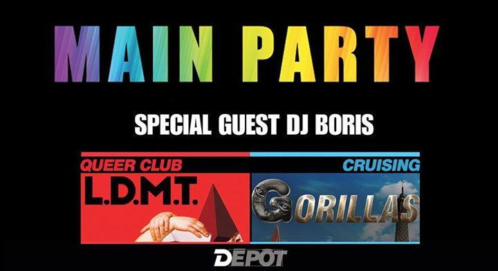 Main Pride Party in Paris le Sat, June 29, 2019 from 11:00 pm to 10:00 am (Clubbing Gay)