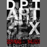 """Vernissage """"DPT"""" / We Are Vandals in Paris le Sat, June 23, 2018 from 07:00 pm to 10:00 pm (Expo Gay)"""