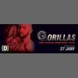 Gorillas Paris #4 à Paris le sam. 27 janvier 2018 de 23h00 à 10h00 (Clubbing Gay)