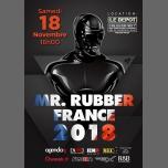 Election Mister Rubber France 2018 à Paris le sam. 18 novembre 2017 de 16h00 à 19h00 (After-Work Gay)