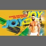 JOY avec la Team Bresil à Paris le ven. 10 août 2018 de 23h30 à 07h00 (Clubbing Gay)