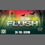 FLUSH | Halloween Techno Event w/ Khainz/Hemei/Floxyd/Olariu à Paris le mer. 31 octobre 2018 de 23h00 à 07h00 (Clubbing Gay)