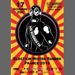 Election Mister Rubber France 2019 à Paris le sam. 17 novembre 2018 de 20h00 à 23h00 (Clubbing Gay)