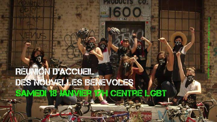 Accueil des futures membres de l'équipe in Paris le Sa 18. Januar, 2020 17.00 bis 22.00 (Begegnungen Lesbierin)