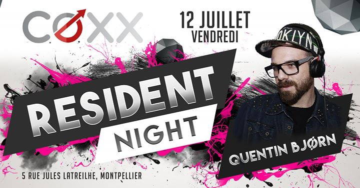 Vendredi 12 Juillet : Quentin BJØRN en Montpellier le vie 12 de julio de 2019 22:00-02:00 (After-Work Gay)