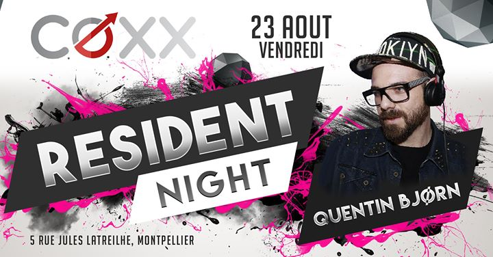 Vendredi 23 aout : Quentin Bjorn en Montpellier le vie 23 de agosto de 2019 22:00-02:00 (After-Work Gay)