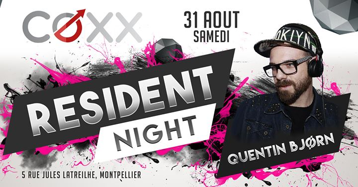 Samedi 31 aout : Quentin Bjorn a Montpellier le sab 31 agosto 2019 22:00-02:00 (After-work Gay)