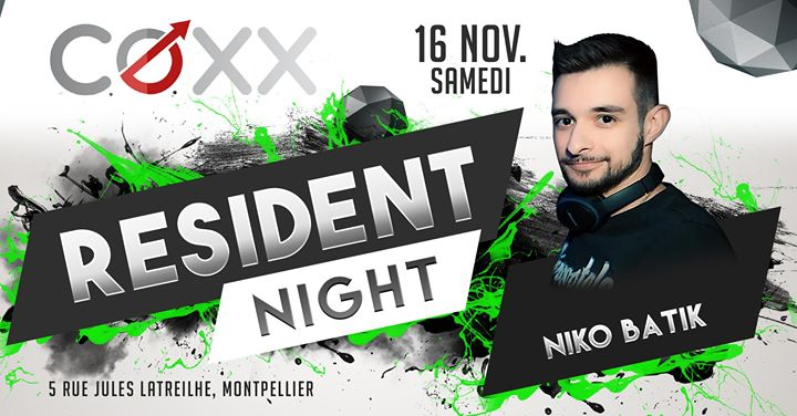 Samedi 16 Novembre : Niko Batik em Montpellier le sáb, 16 novembro 2019 22:00-01:00 (After-Work Gay)