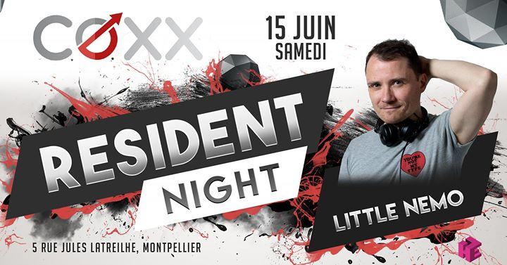 Samedi 15 Juin : RESIDENT NIGHT // Nemo in Montpellier le Sat, June 15, 2019 from 10:00 pm to 01:00 am (After-Work Gay)