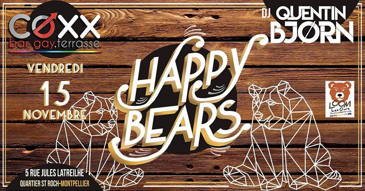 Vendredi 15 Novembre : Happy Bears Spécial tombola em Montpellier le sex, 15 novembro 2019 22:00-01:00 (After-Work Gay)