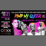 Scène Ouverte PIMP MY QUEER #5 by Support Your Local Girl Gang in Montpellier le Thu, February 21, 2019 from 09:00 pm to 01:00 am (After-Work Gay)