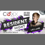Vendredi 22 Février : RESIDENT NIGHT // Mellanie in Montpellier le Fri, February 22, 2019 from 10:00 pm to 01:00 am (After-Work Gay)