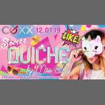 Samedi 12 Janvier : SOIRÉE QUICHE in Montpellier le Sat, January 12, 2019 from 10:00 pm to 01:00 am (After-Work Gay)