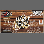 Vendredi 25 Janvier: HAPPY Bears in Montpellier le Fri, January 25, 2019 from 10:00 pm to 01:00 am (After-Work Gay)