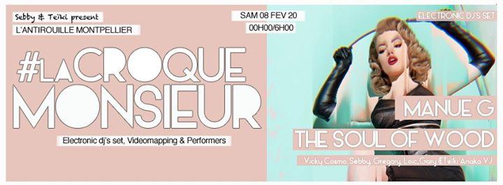 La Croque Monsieur Fetish Deluxe a Montpellier le sab  8 febbraio 2020 23:59-06:00 (Clubbing Gay friendly)