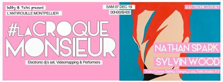 La Croque Monsieur Flash dans la nuit in Montpellier le Sat, December  7, 2019 from 11:50 pm to 06:00 am (Clubbing Gay Friendly)