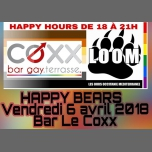 Happy Bears Au COXX à Montpellier le ven.  6 avril 2018 de 18h00 à 01h00 (After-Work Gay, Bear)
