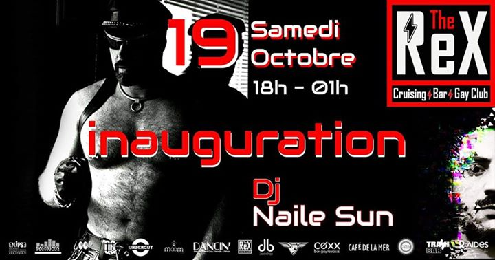 Inauguration The Rex Cruising in Montpellier le Sat, October 19, 2019 from 06:00 pm to 01:00 am (Sex Gay)