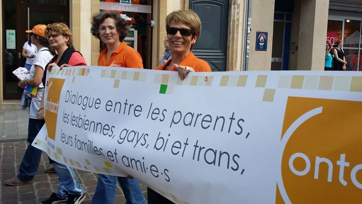 Permanence de Contact Moselle à Metz le mer.  3 juillet 2019 de 16h30 à 20h00 (Rencontres / Débats Gay, Lesbienne)