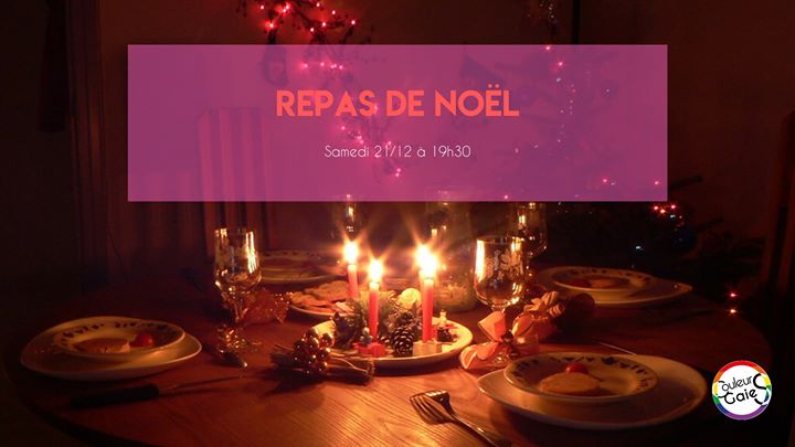 Repas de Noël in Metz le Sat, December 21, 2019 from 07:30 pm to 10:00 pm (Meetings / Discussions Gay, Lesbian)