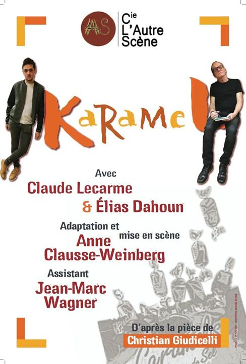 Karamel in Metz le Fri, May 31, 2019 from 08:30 pm to 10:30 pm (Theater Gay, Lesbian)