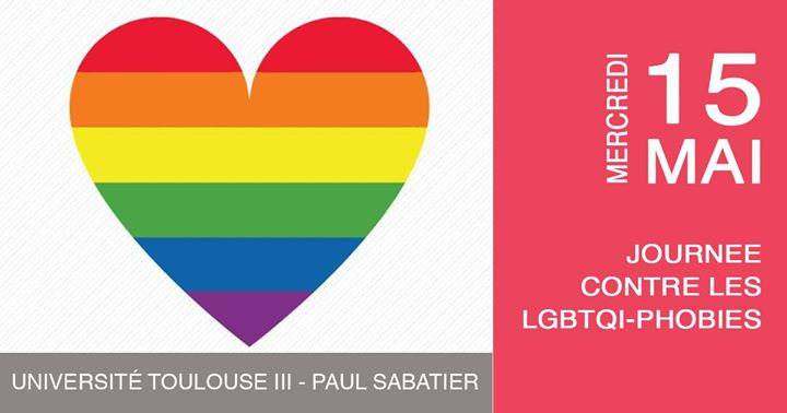 Journée contre les Lbgtqi-phobies in Toulouse le Wed, May 15, 2019 from 11:00 am to 03:00 pm (Meetings / Discussions Gay, Lesbian)