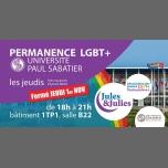 Permanence LGBT+ Univ Paul Sab - Jules & Julies à Toulouse le jeu. 15 novembre 2018 de 18h00 à 21h00 (Rencontres / Débats Gay, Lesbienne)