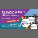 Permanence LGBT+ Univ Paul Sab - Jules & Julies in Toulouse le Thu, December  6, 2018 from 06:00 pm to 09:00 pm (Meetings / Discussions Gay, Lesbian)