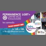 Permanence LGBT+ Toulouse - Jules & Julies à Toulouse le sam. 10 novembre 2018 de 14h00 à 18h00 (Rencontres / Débats Gay, Lesbienne)