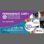 图卢兹Permanence LGBT+ Toulouse - Jules & Julies2019年 2月 6日,14:00(男同性恋, 女同性恋 见面会/辩论)